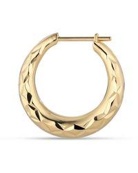 Jane Kønig Rhombus Earring, Gold-plated Sterling Silver - Geel