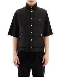 Dolce & Gabbana Puffer Vest - Zwart