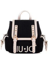 Liu Jo Logo Backpack - Zwart