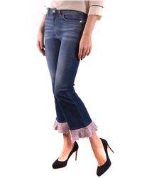 Pinko Pantalones Azul
