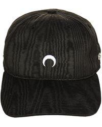 Marine Serre Hat - Negro