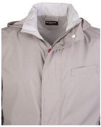 Kiton Coat Gris
