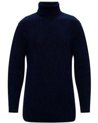 Etro Turtleneck Sweater - Blauw