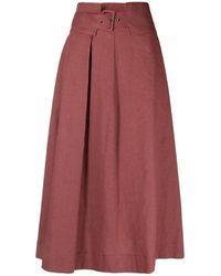 Fabiana Filippi Maxi skirt - Marrón