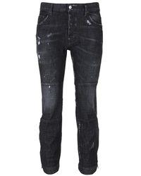 DSquared² Ski biker jeans - Nero