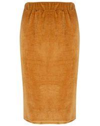 Lofty Manner Skirt Zandra - Oranje