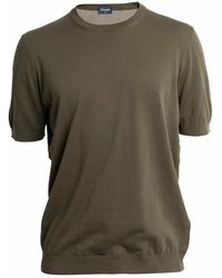 Drumohr T-shirt - Bruin