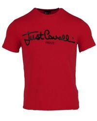 Just Cavalli T-shirt - Rood