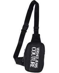 Versace Jeans Couture Nylon belt bag - Noir