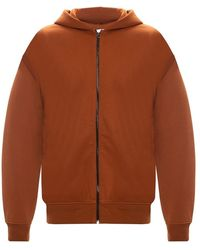 Acne Studios Logo-patched Hoodie - Bruin