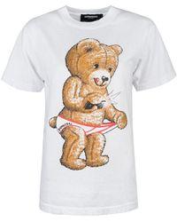 "DOMREBEL T-shirt ""snap Box T"" - Wit"