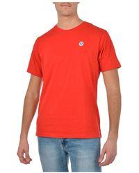 North Sails T-shirt - Rood