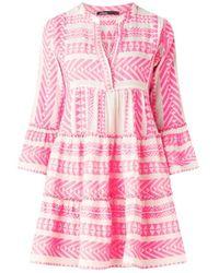 Devotion Short Dress - Roze