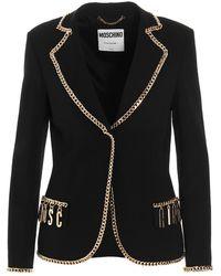 Moschino Coat - Zwart