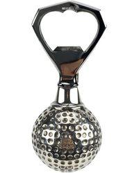 Hermès Apribottiglie con pallina da golf in acciaio inossidabile - Grigio