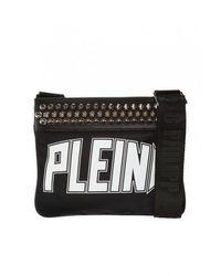 Philipp Plein Shoulder Bag With Logo - Zwart