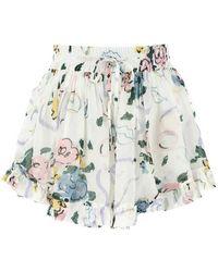 Alessandra Rich Shorts - Wit