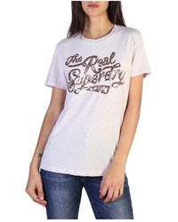 Superdry T-shirt - Wit