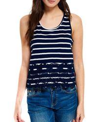 Superdry Camiseta Shore - Blauw