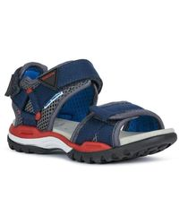 Geox Borealis sandals - Blu