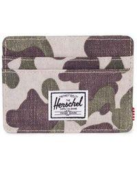 Herschel Supply Co. Porte Carte Charlie - Naturel