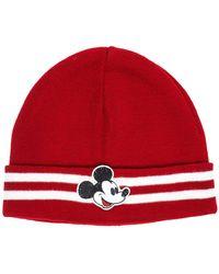 Gcds Men's Wool Beanie Hat - Rood