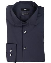 BOSS by Hugo Boss Henning Shirt - Blauw