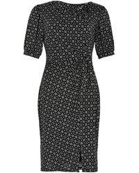 iN FRONT Merry Dress 1/2 Sleeve Kjoler 14431 - Zwart