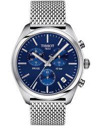 Tissot Pr 100 Watch - Blauw