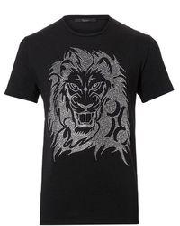 Billionaire Tee shirt clouté mtk 1467 full - Negro