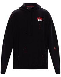 DIESEL Logo hoodie - Nero