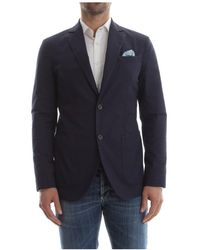AT.P.CO Alan 60 a0347a classic jacket and blazer men blue - Azul