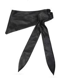 Nanushka Waist belt - Noir