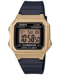 G-Shock Watch W-217hm-9a - Zwart