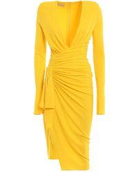 Alexandre Vauthier Dress - Geel