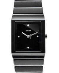 Rado Ceramica Diamonds Watch - Noir