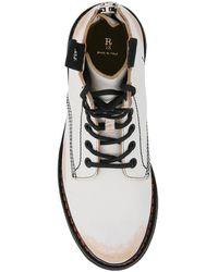 R13 Combat boots Blanco