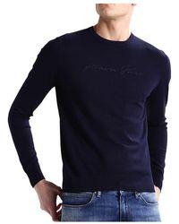 Armani Jeans Sweater - Blau