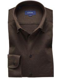 Eton Shirt - Bruin