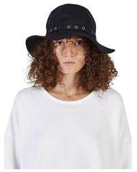 Sacai Bob Hat - Bleu