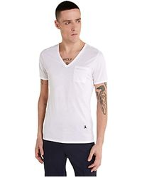 Patrizia Pepe 5M1254/At23 Short sleeve Men White - Bianco