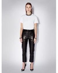 Zoe Karssen Lola Artwork Relaxed Fit T-shirt - Blanc