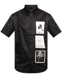 MISBHV Recordings shirt - Noir