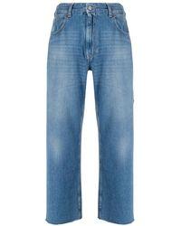 Maison Margiela 5-pockets Denim Pants - Blauw