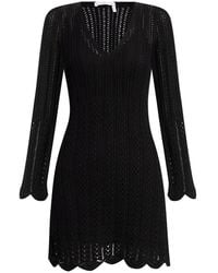 See By Chloé - Openwork Dress - Lyst