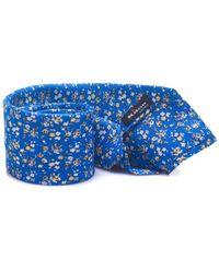 Kiton Tie - Blauw