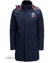 North Sails Stac Cp Down Jacket Technician - Blauw