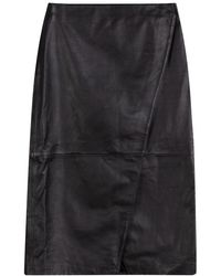 Dagmar Ruth Chrome Free Skirt - Zwart