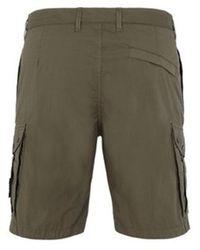 Stone Island Cargo Shorts Verde