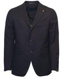 Tagliatore Water Repellent Suit - Blauw